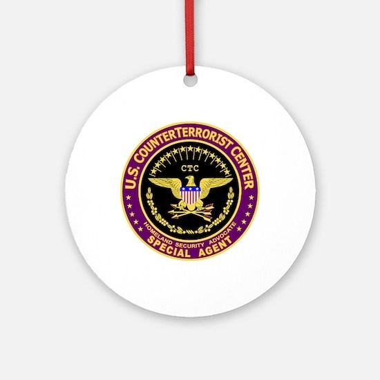 CounterTerrorist Center CTC Ornament (Round)