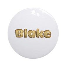 Blake Toasted Round Ornament