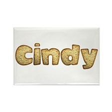 Cindy Toasted Rectangle Magnet