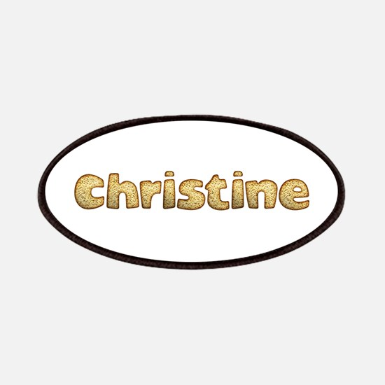 Christine Toasted Patch