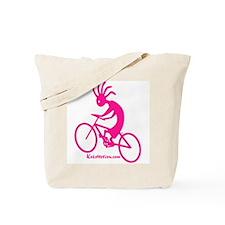 Kokopelli Mountain Biker Tote Bag
