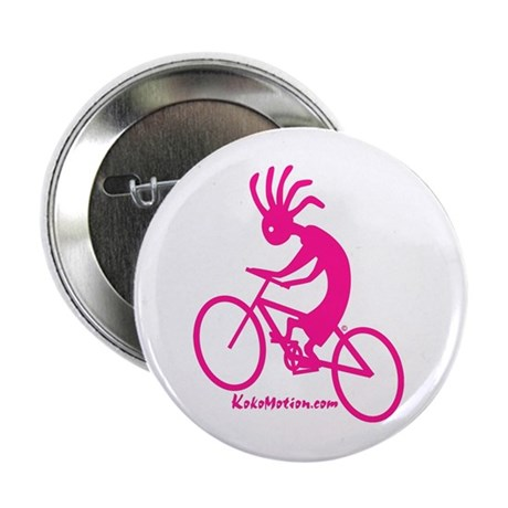 Kokopelli Mountain Biker Button