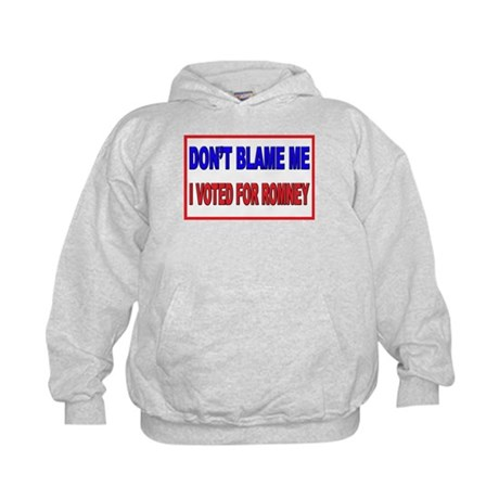 Don't Blame Me Anti Obama Kids Hoodie