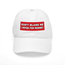 Don't Blame Me Anti Obama Baseball Cap