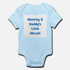 Mommy & Daddy's Little Miracl Infant Creeper