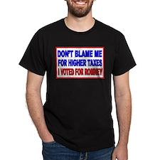 Don't Blame Me Anti Obama T-Shirt