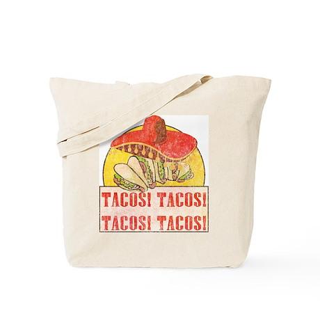 Reno Tacos (Retro Wash) Tote Bag