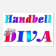 Handbell Diva Postcards (Package of 8)