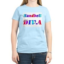 Handbell Diva Women's Pink T-Shirt