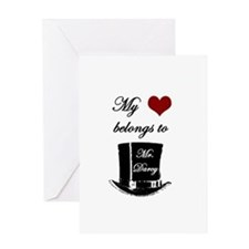 Mr. Darcy Heart Greeting Card