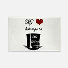 Mr. Darcy Heart Rectangle Magnet