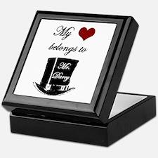 Mr. Darcy Heart Keepsake Box