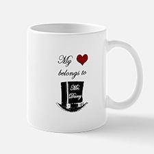 Mr. Darcy Heart Mug