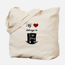 Mr. Darcy Heart Tote Bag