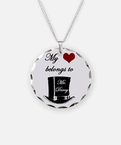 Mr. Darcy Heart Necklace