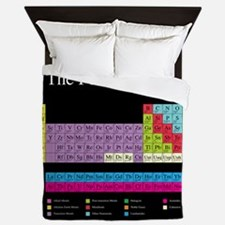 Cute Periodic table Queen Duvet