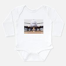 Airbus Long Sleeve Infant Bodysuit