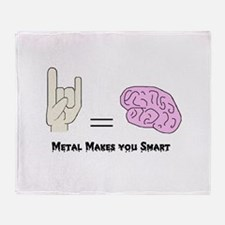 metal makes you smart - color - with words - cree