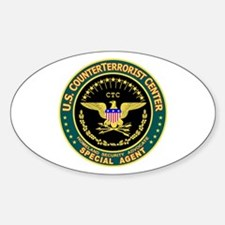 CTC U.S. CounterTerrorist Oval Decal