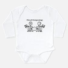 Cloud Computing Long Sleeve Infant Bodysuit