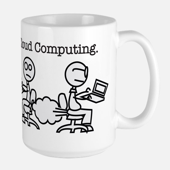 Cloud Computing Large Mug