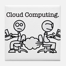 Cloud Computing Tile Coaster