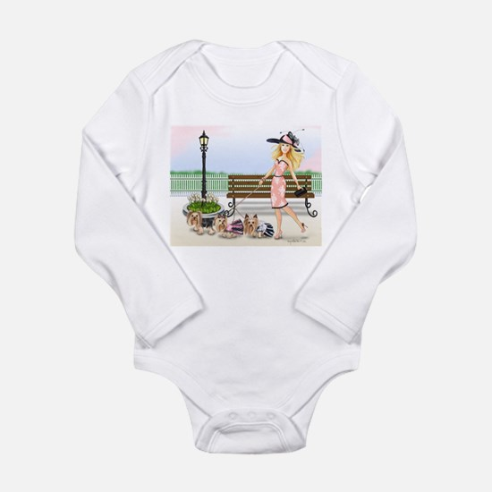 A day at the Derby Long Sleeve Infant Bodysuit