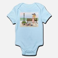 A day at the Derby Infant Bodysuit