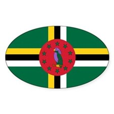 Flag of Dominica Decal