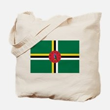 Flag Of Dominica Tote Bag