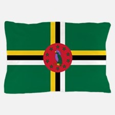 Flag of Dominica Pillow Case