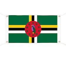 Flag of Dominica Banner