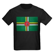 Flag of Dominica T