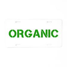 ORGANIC Aluminum License Plate