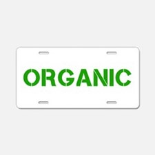 ORGANIC Aluminum License Plate