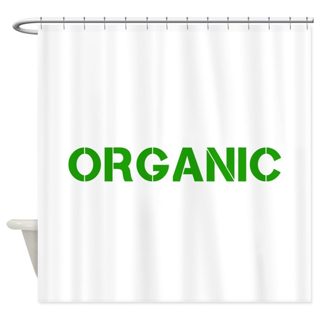 ORGANIC Shower Curtain by organictees1