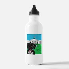 I barack for Obama! Water Bottle