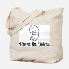 """Protect the Unborn"" Tote Bag"