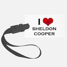 I Love Sheldon Cooper Luggage Tag
