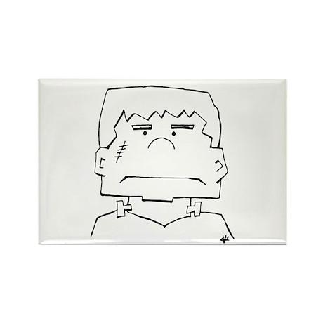 Frankie Rectangle Magnet (10 pack)