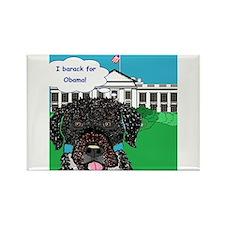 I barack for Obama!! Rectangle Magnet