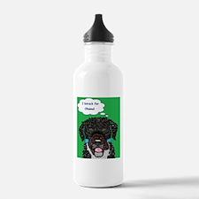 I barack for Obama 2012! Water Bottle