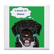 I barack for Obama 2012! Tile Coaster