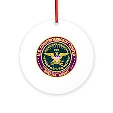 U.S. CounterTerrorist Ornament (Round)