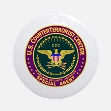 U.S. CounterTerrorist Ornament (Round)