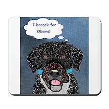 Bo Obama Mousepad