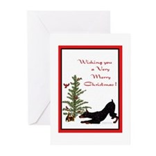 DobeChristmas Greeting Cards