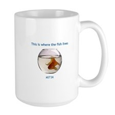 Where the fish lives Mug