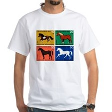 1969 Germany Horses Set Postage Stamps Shirt