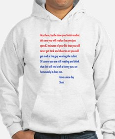 Confusing text Hoodie